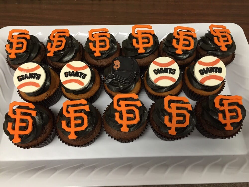 Sf Giants Cupcakes For The World Series Yelp
