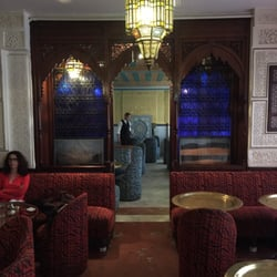 La Mosquée - Paris, France. Spectacular setting for a delicious Moroccan meal