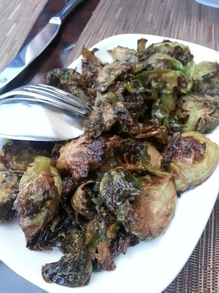 Barbacco - San Francisco, CA, United States. Brussels sprouts with garlic and duck fat!
