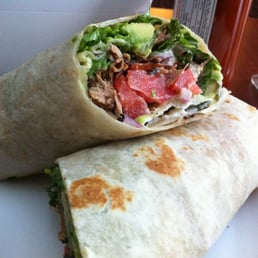 Pure Luck Restaurant - Los Angeles, CA, United States. Carnita's Wrap