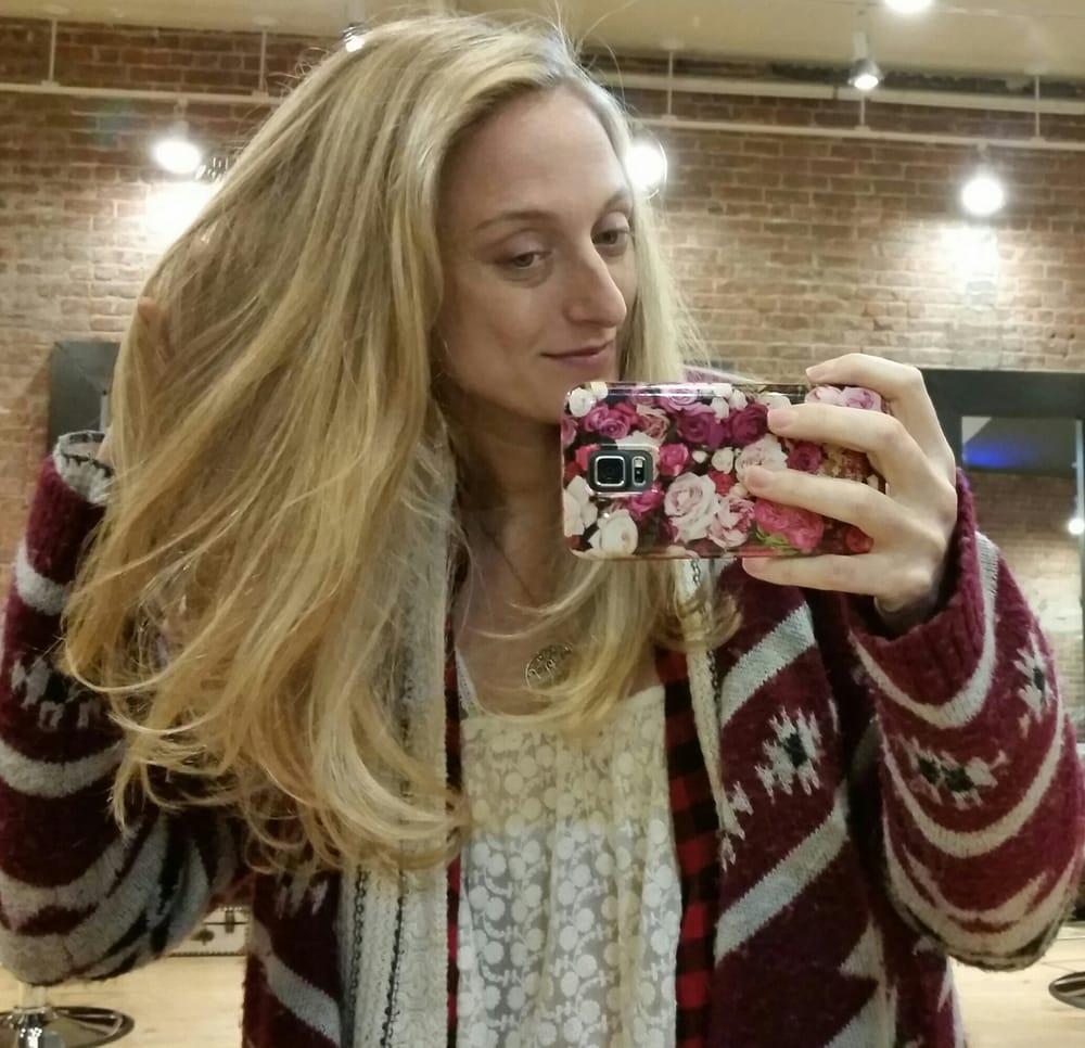 The Organic Hair Dye Made My Dark Blonde Hair A Natural