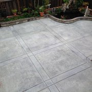 H&J Landscaping Services - Fremont, CA, United States. stamp concrete