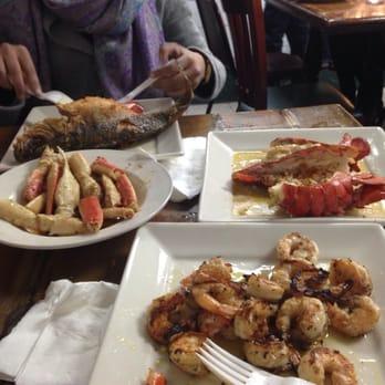 Astoria seafood long island city ny united states for Fish market long island