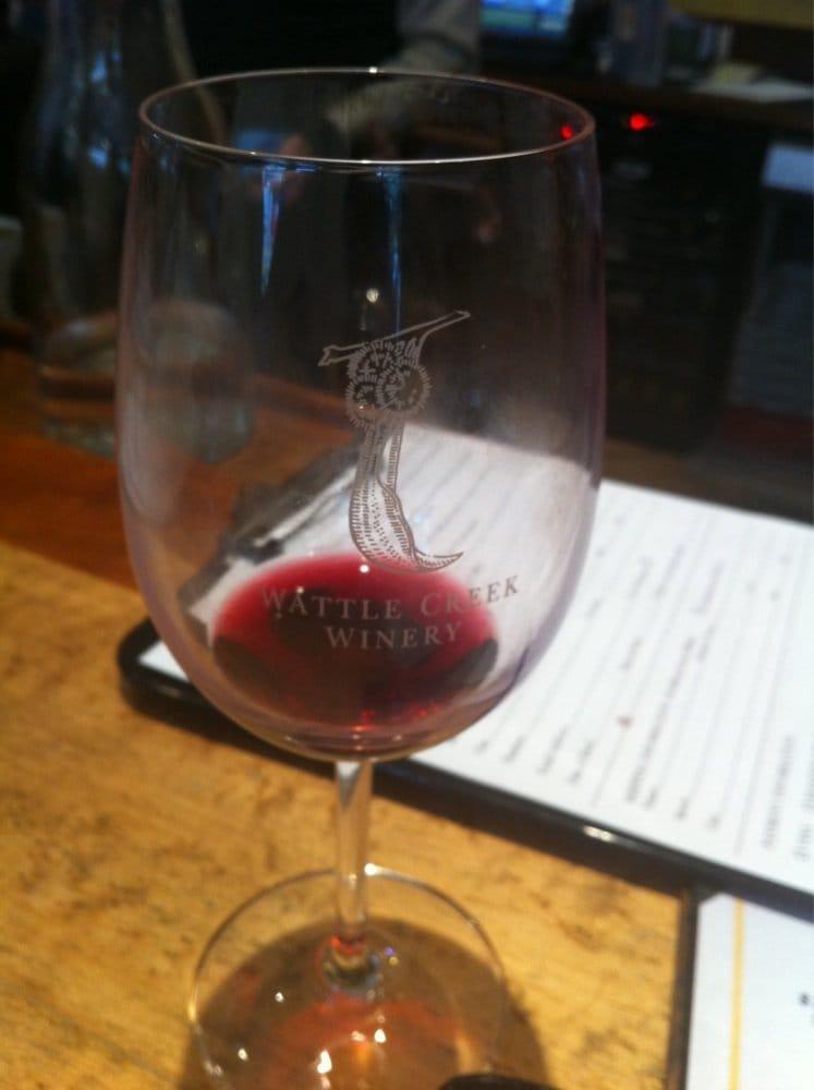 Wattle Creek Winery Tasting Room Wattle Creek Winery Tasting