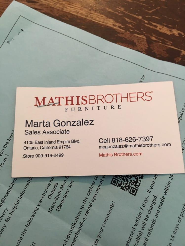 Marta helped my best friend Robert find exactly what he