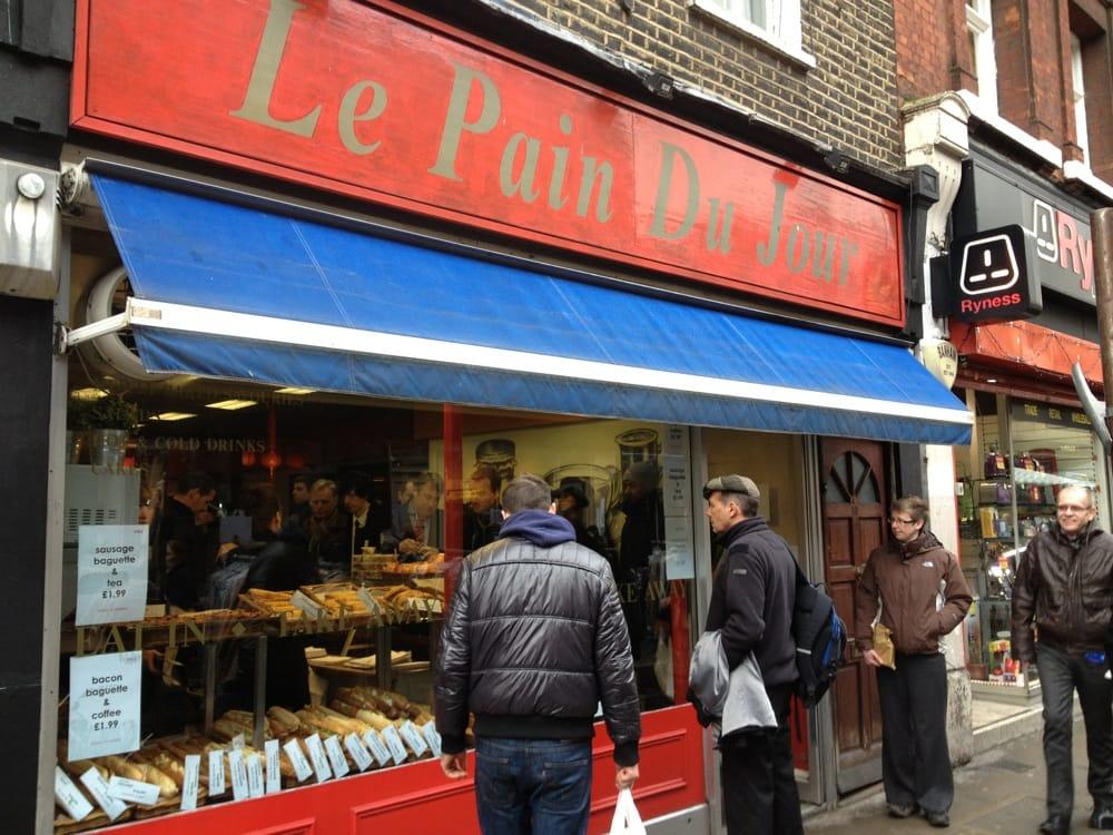 Le pain du jour fast food westminster londra london for Salon du fast food
