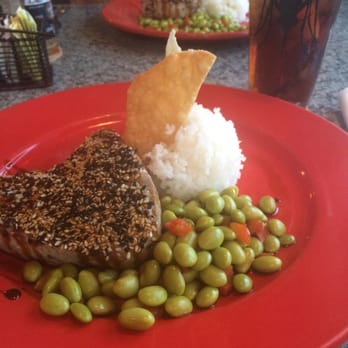 Sesame Seared Tuna With Soy Lime Noodles Recipes — Dishmaps