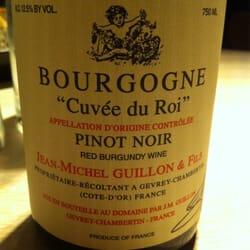 Excellent vin !