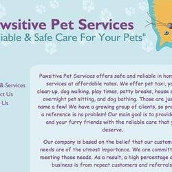 Pawsitive Pet Services logo