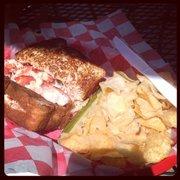 The 1029 Bar - Lobster roll sandwich !! - Minneapolis, MN, Vereinigte Staaten