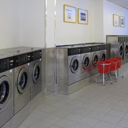 Waschsalon Innenansicht