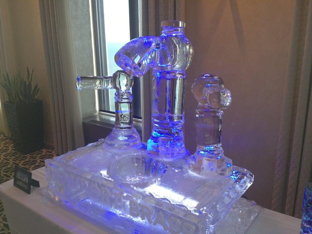 Newport Brass Faucet Ice Sculpture | Yelp