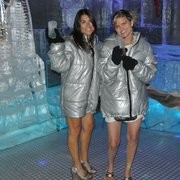 The ladies love the Ice Bar