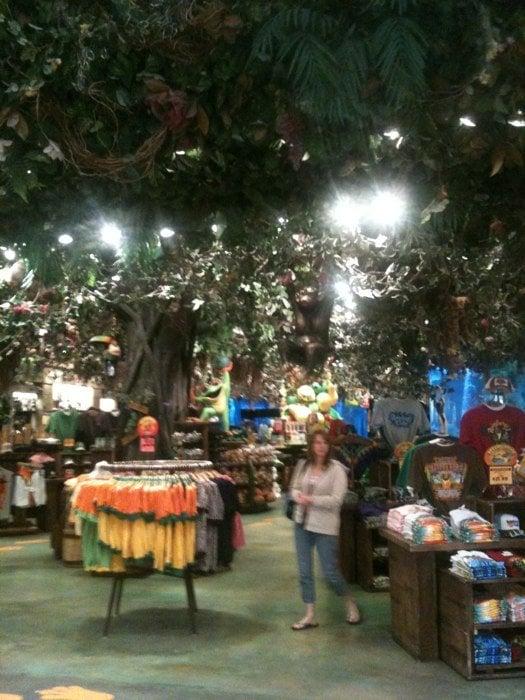 Rainforest Cafe Grapevine Tx