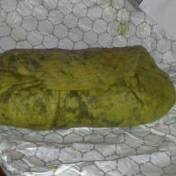 Bullritos - Houston, TX, États-Unis. Big ass spinach burrito