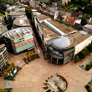 Der Mediapark von oben! Aussicht aus dem…