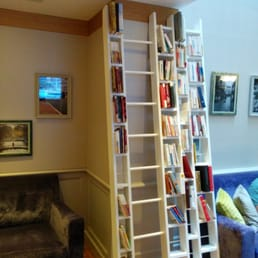 Library at lobby, creative design