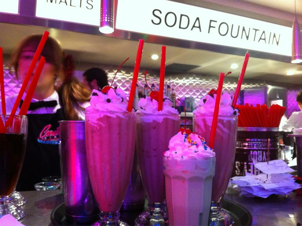 Corvette Diner - Soda Fountain - San Diego, CA, United States