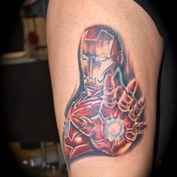 Ironman Tattoo, Independent Color Tattoo…