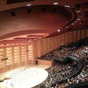 Auditorium de l'Orchestre National de Lyon - Lyon, France. La grande salle