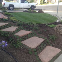 H&J Landscaping Services - Fremont, CA, United States. stone steps