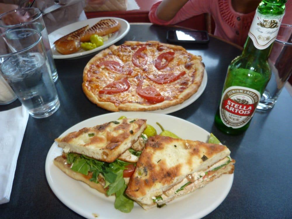 ... . Salame Panini, #2 Grilled Chicken Foccacia & Cheese Tomato Pizza