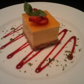 delicious mango cheesecake