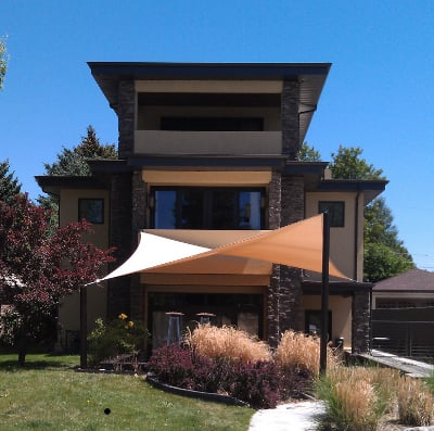 tension sail shade canopy patio cover yelp
