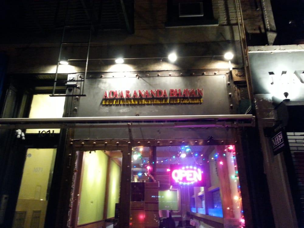 Adyar Ananda Bhavan - New York, NY, United States
