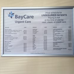 Baycare Urgent Care Hours