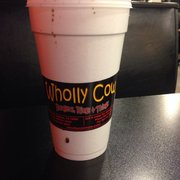 Wholly Cow Burgers, Rings & Things - My drink... I've been a bad bad girl.... - Abilene, TX, Vereinigte Staaten