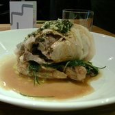 Braised Pork and Fennel with Agretti