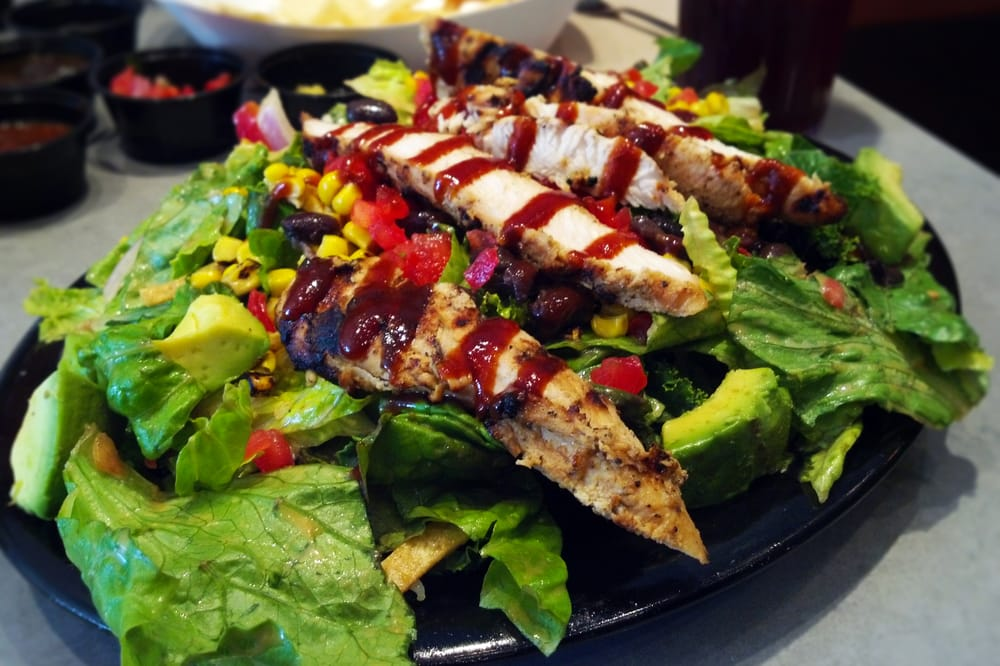 Baja Chicken Salad Baja Bbq Chicken Salad