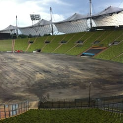 Olympisch stadion in München. Zonder…