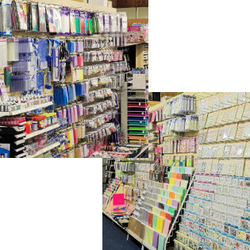We stock a vast selection of crafting products from well known brands.