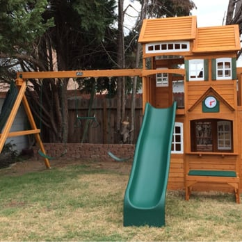 swing set free assembly 1