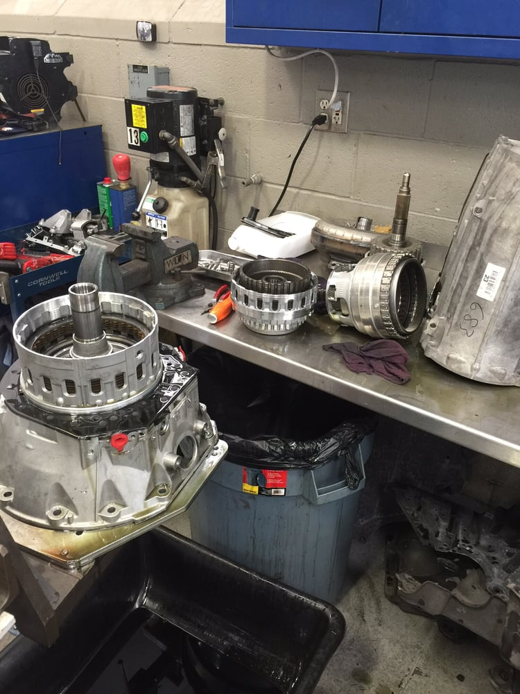 Rebuilding 722 9 transmission all done in house yelp for Mercedes benz maintenance b