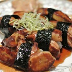 Foie gras nigiri