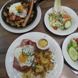 Frisch gebackener Krauterfleischkase and…