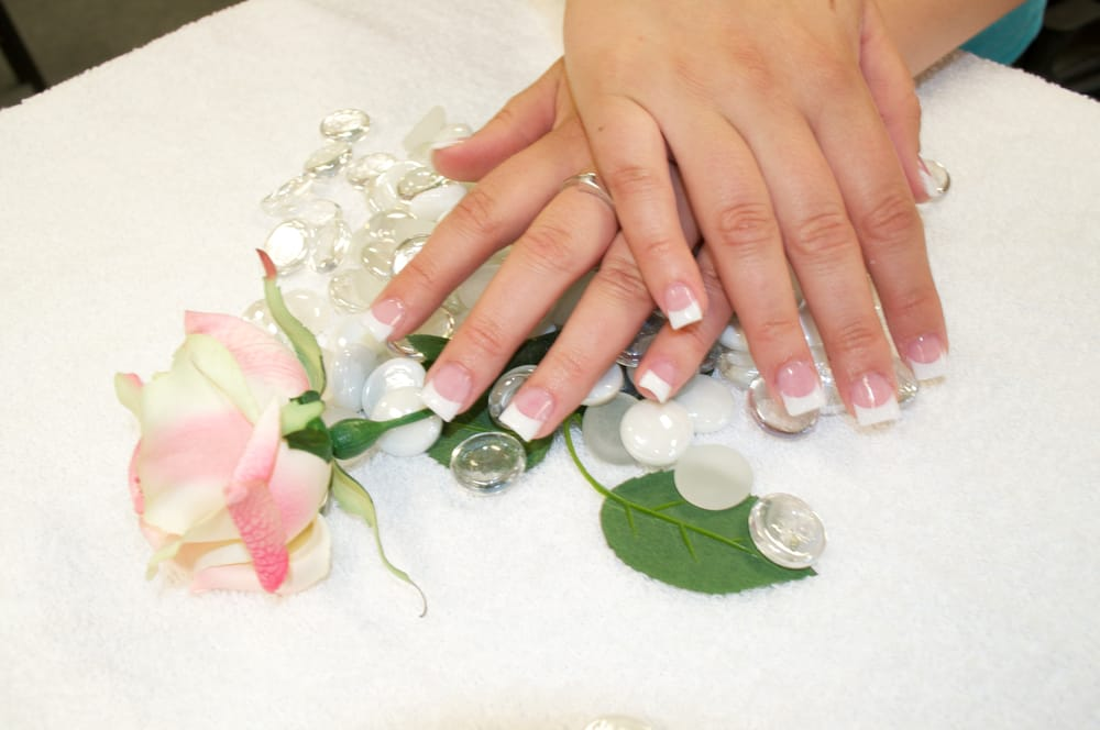 Paradise Nails & Spa - White Tip with Gel Coat - Fort Collins, CO