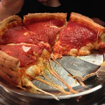 Chicago style pizza shack 30 photos pizza hamilton for Table 52 menu chicago