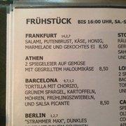 Wie wäre es mit dem Frankfurt Frühstück