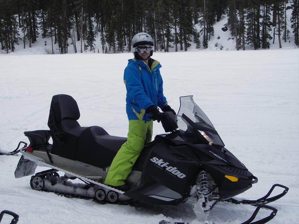 Snowmobile Tours Near Me