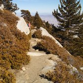 Mount San Jacinto State Park - Idyllwild, CA, États-Unis. Near the peak. Sunshine and no pines means no ice here (1/2014).