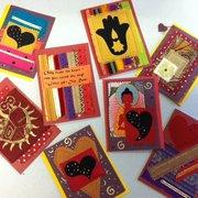 Judee Moonbeam Studio - Valentine note cards $5 ea - Portland, OR, Vereinigte Staaten