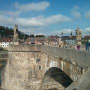 Alte Mainbrücke, Würzburg, Bayern, Germany