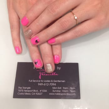 Nails by priscilla 116 reviews nail salons costa for Above and beyond beauty salon