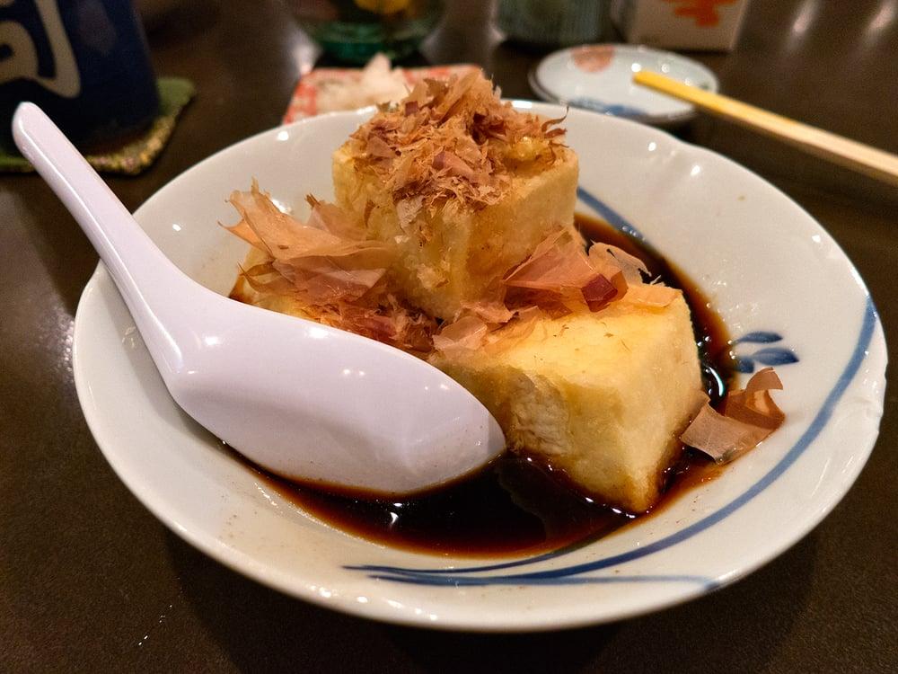 Fried Tofu Agedashi Tofu Deep Fried Tofu