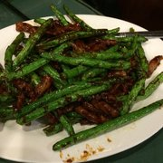Joe's Ginger - Beef with string beans - New York, NY, Vereinigte Staaten