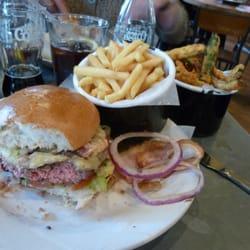 Byron burger & sides